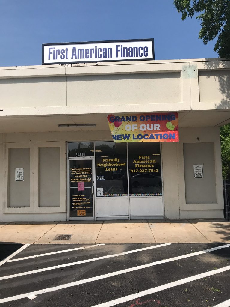 First American Finance